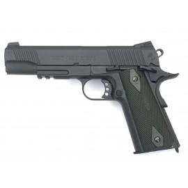 Colt 1911 Rail Gun CO2 Nera Opaca