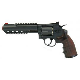 "WIN GUN REVOLVER 6"" CO2"