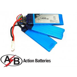 Action Batteries - LIFE 1400 mAh 9,9V 25C