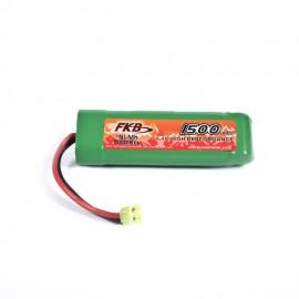 Battery Ni-MH 8,4V 1500mAh Mini-Type