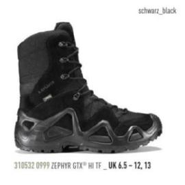 LOWA - ZEPHYR GTX HI TF Black