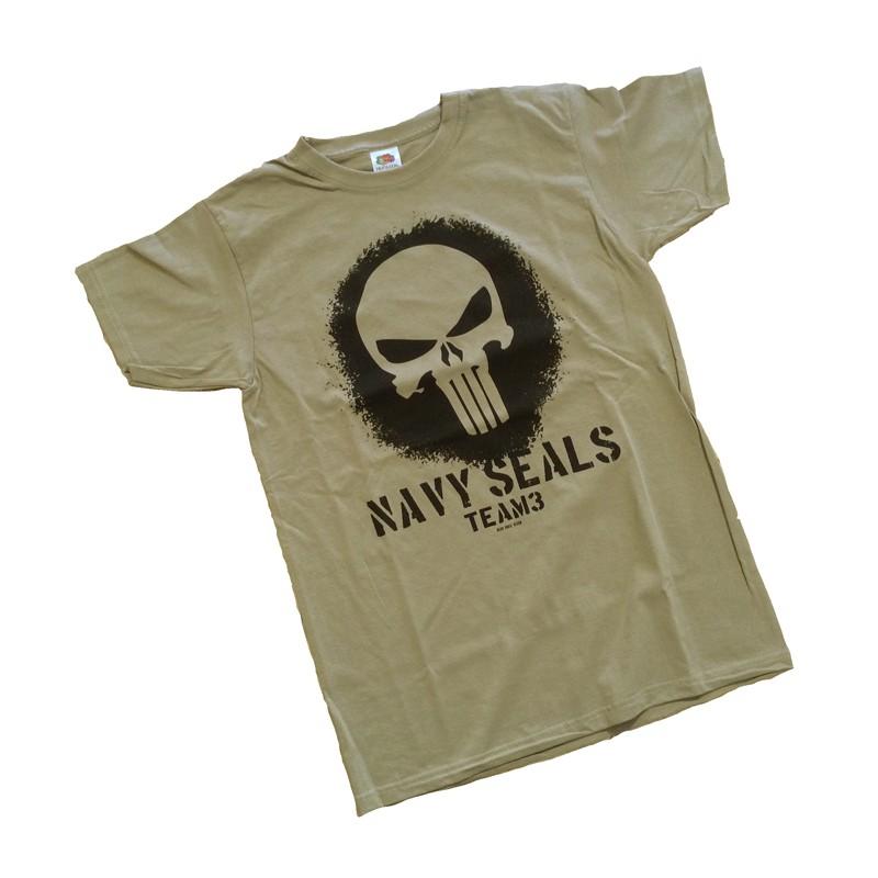 T-Shirt - Navy Seal Team PUNISHER - Softair Team 88