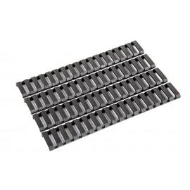G&G - Ladder Rail Panel Set - Black (4 Panels per Set)