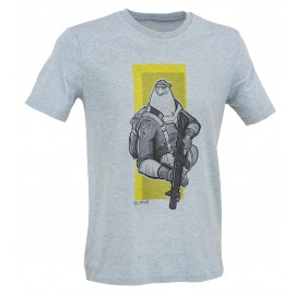 D.Five - T-Shirt aquila paracadutista