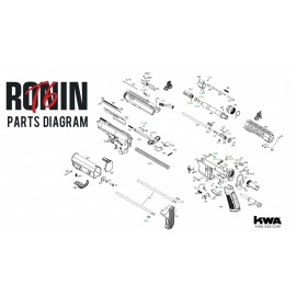 KWA Airsoft VM4 Ronin T6 PDW