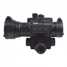 JS-TACTICAL RED DOT SIGHT SCOPE CON LASER INTEGRATO HD30L