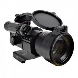 JS-TACTICAL RED DOT LENTE 38mm CON LASER ROSSO HD30D6