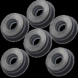 FPS - Boccole auto lubrificanti piene in acciaio da 8 mm